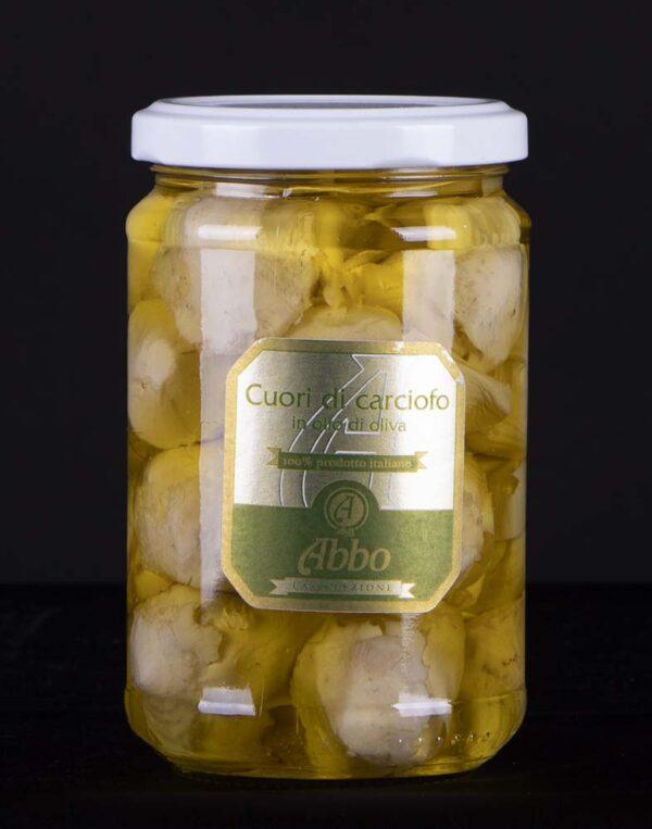 Cuori di carciofo Abbo prodotto italiano