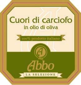 Cuori di carciofo in olio di oliva Abbo