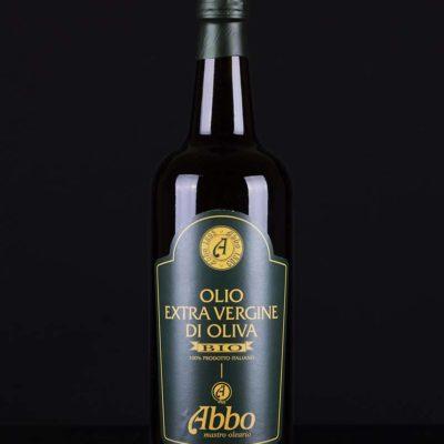 Olio Extravergine di Oliva BIO 100% italiano del frantoio Abbo