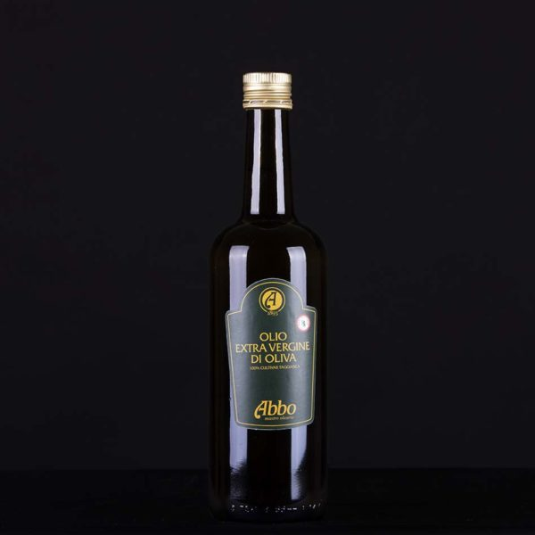 Olio extravergine di oliva taggiasco 100% italiano high standard Abbo