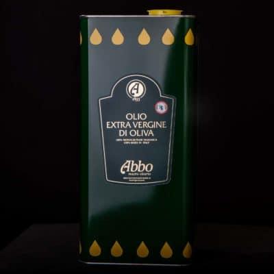 ravergine di oliva taggiasco high standard 100% italiano Abbo