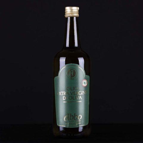 Olio extravergine di oliva high standard Abbo in bottiglia da 1 lt