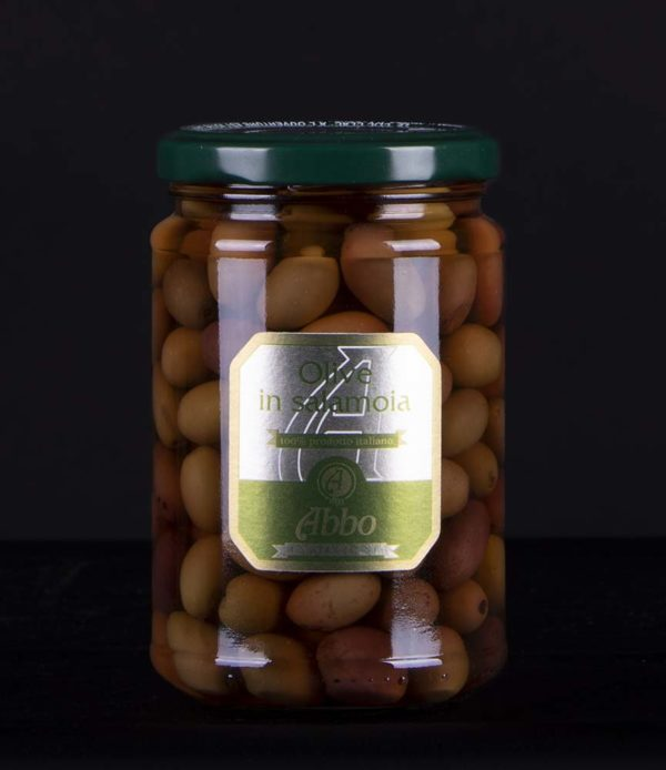 Olive nere Riviera in salamoia