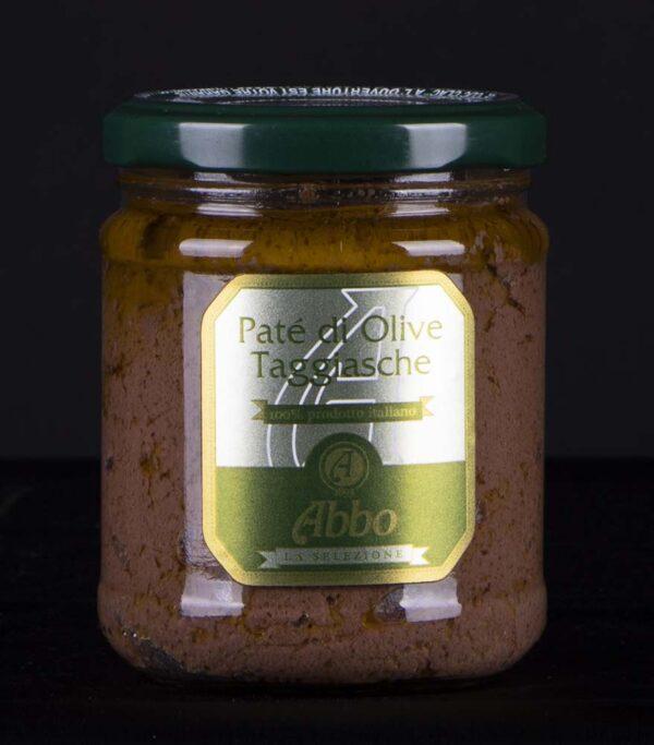 Patè di olive nere taggiasche con olio Abbo