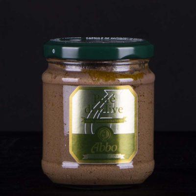 Patè di olive nere Riviera con olio Abbo