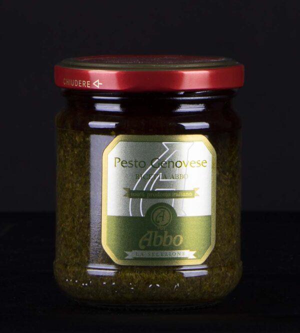 Pesto genovese con olio extravergine di oliva Abbo